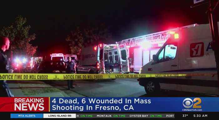4 Dead, 6 Wounded In Fresno Mass Shooting