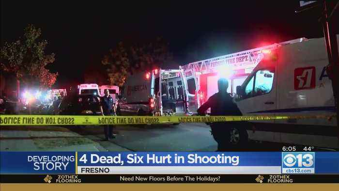 4 Dead, 6 Hurt In Football Watch Party Shooting In Fresno