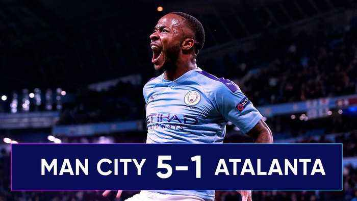 Manchester City 5-1 Atalanta   Could Sterling Win The Champions League For City?! #UCLReview