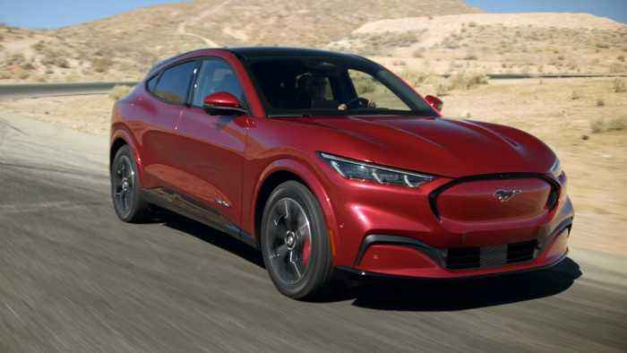 2021 Ford Mustang Mach-E electric crossover revealed