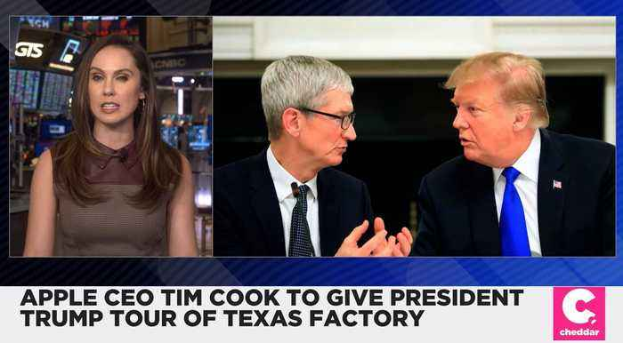 Apple CEO Tim Cook Will Give President Trump a Tour of Texas Factory
