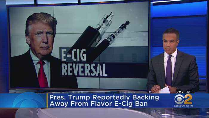 President Trump Reportedly Backing Away From Flavored E-Cigarette Ban