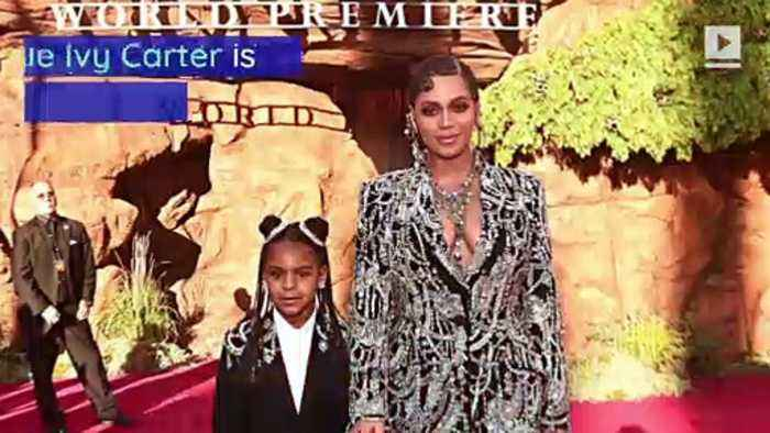 Beyoncé and Jay-Z's 7-Year-Old Daughter Wins Songwriting Award