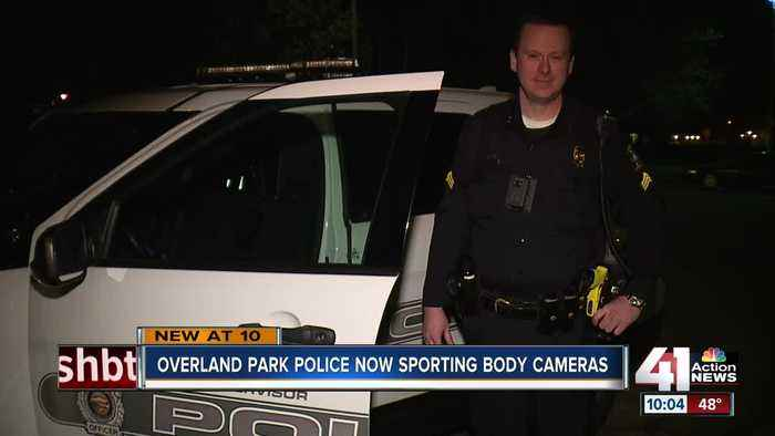 Overland Park Police Department now sporting body cameras
