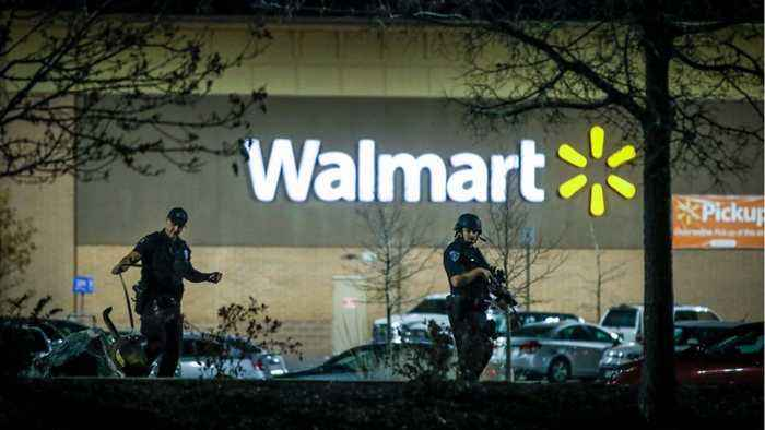 Shooting in Oklahoma Walmart parking lot leaves three dead
