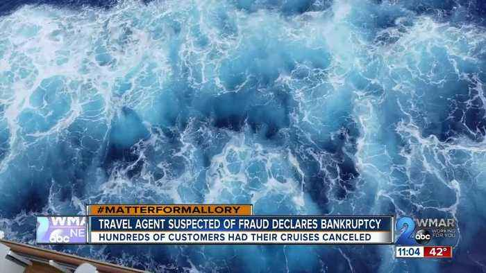 Travel agent suspected of fraud declares bankruptcy