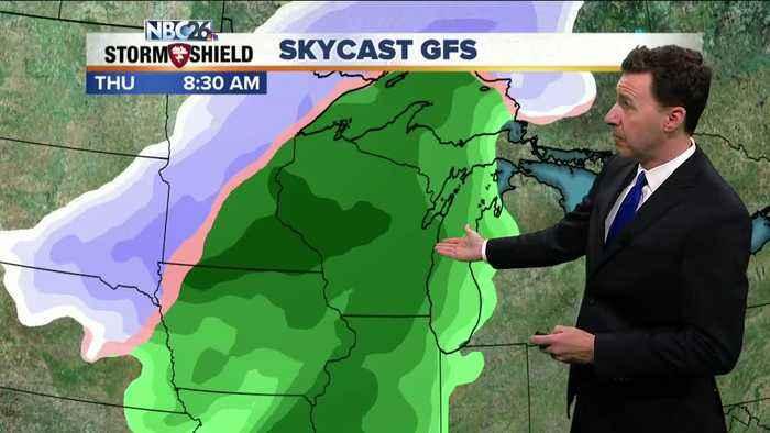 Michael Fish's NBC26 weather forecast