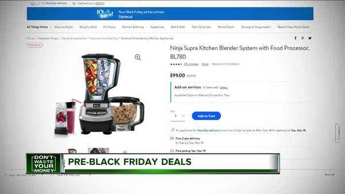 Dont Waste Your Money: Pre Black Friday deals
