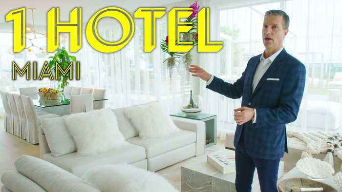 Inside a $45K/Night Miami Duplex Penthouse