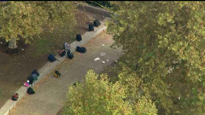 Saugus High School Students Allowed to Pick Up Belongings Days After Deadly Shooting