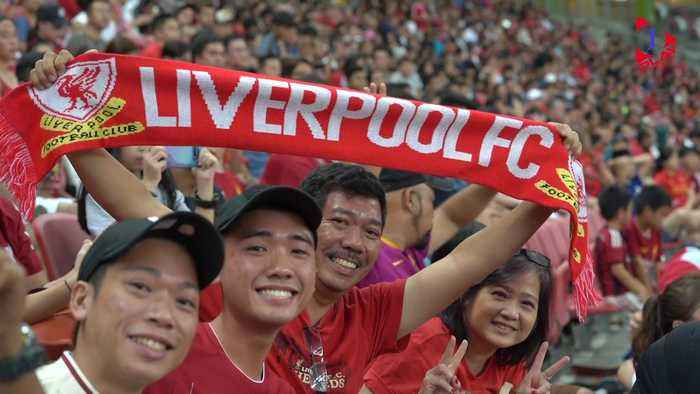The Manchester United-Liverpool Rivalry in Singapore