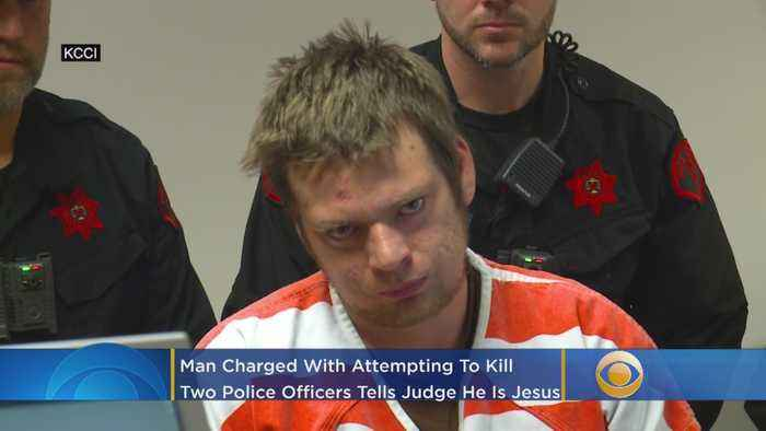 'I Am Jesus': Man Charged With Attempting To Murder Two Police Officers Faces Judge