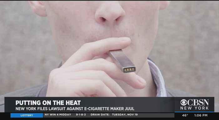 New York Files Lawsuit Against E-Cigarette Maker JUUL