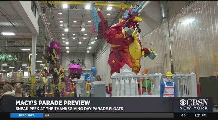 Get A Sneak Peek At Macy's Thanksgiving Day Parade Floats