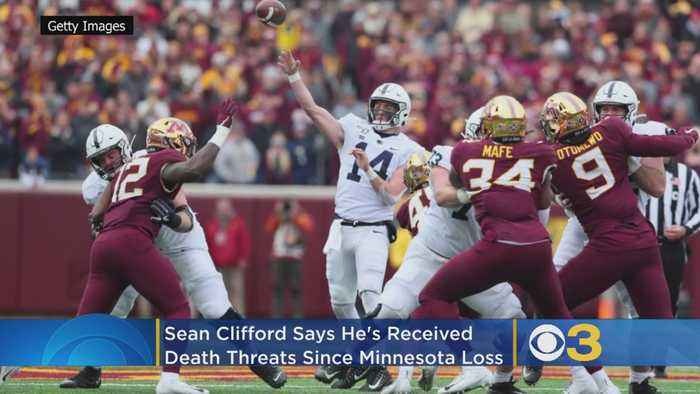 Penn State Quarterback Sean Clifford Says He Received Death Threats Following Minnesota Loss