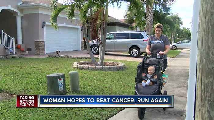 Mom who battled cancer while pregnant and her 'miracle son' train for Miles For Moffitt together