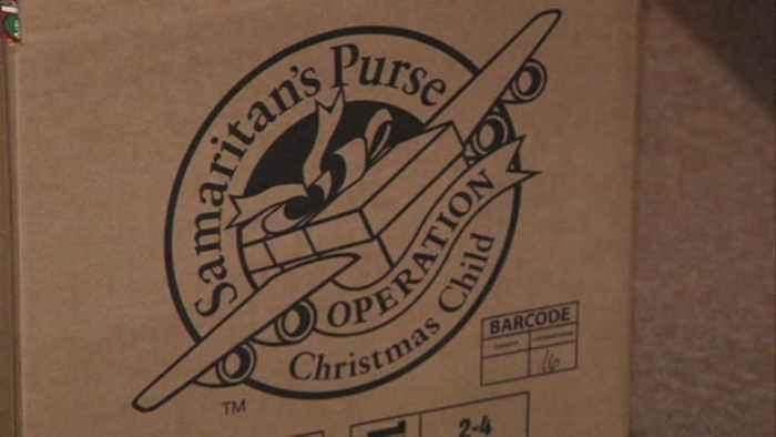 Operation Christmas Child began Monday