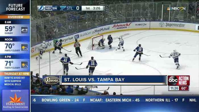 St. Louis Blues beat Tampa Bay Lightning to spoil Pat Maroon's homecoming