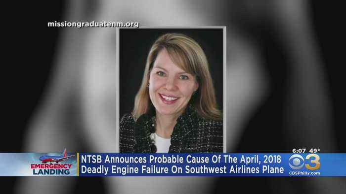 NTSB Releases Probable Cause Of Deadly Engine Failure On Flight That Made Emergency Landing In Philadelphia