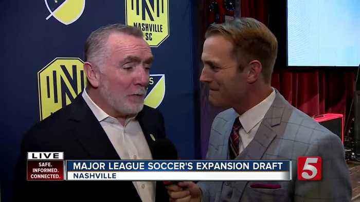 Nashville SC makes picks in MLS expansion draft