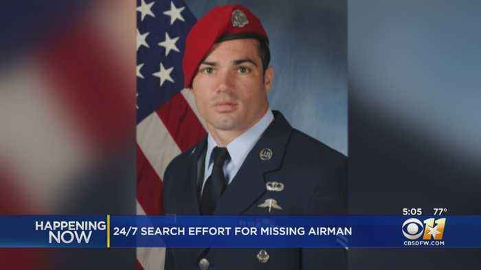 24/7 Search Effort For Missing Airman From Dallas