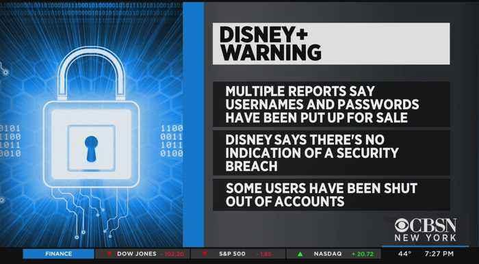 Disney Plus Accounts Reportedly Hacked