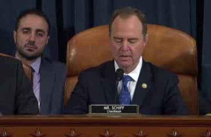 Knowledge of Trump-Ukraine 'scheme' was far and wide: Schiff