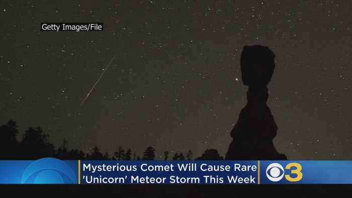 Mysterious Comet Will Cause Rare 'Unicorn' Meteor Storm This Week