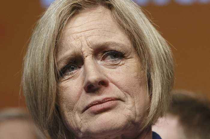 Former Alberta Premier Rachel Notley Gets Booted From The Legislature