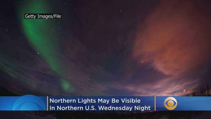 Parts of United States Could Get Glimpse Of Northern Lights Wednesday