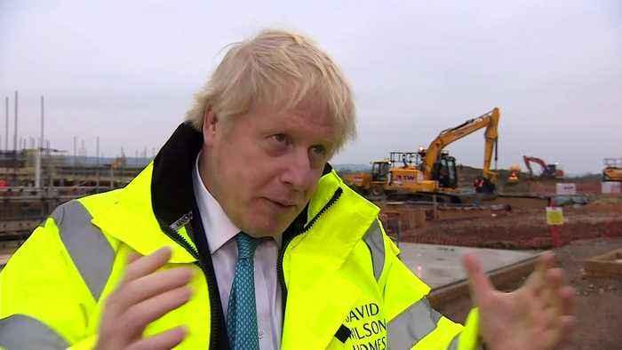 Boris Johnson announces plans for 1m new homes