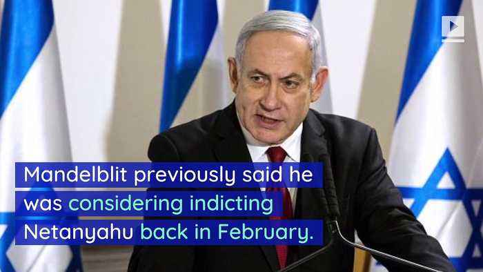 Israeli PM Benjamin Netanyahu Indicted on Corruption Charges