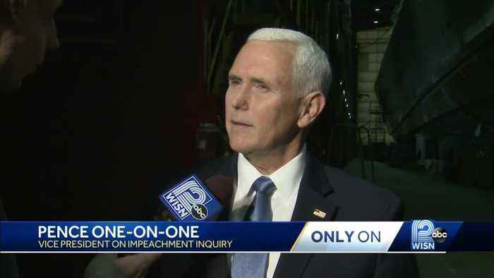 Pence disputes testimony in WISN interview
