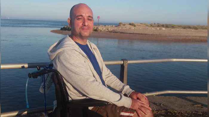 Man told he'd never walk again after paragliding crash vows to be on his feet by next summer