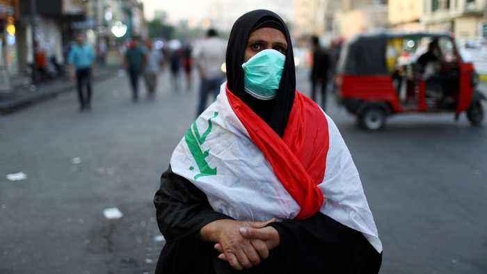 The Iraqi women protesting for a better future