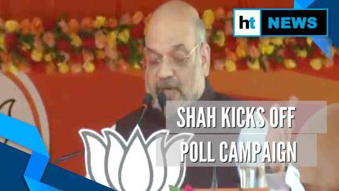 Battleground Jharkhand: Amit Shah blames Congress for lack of development