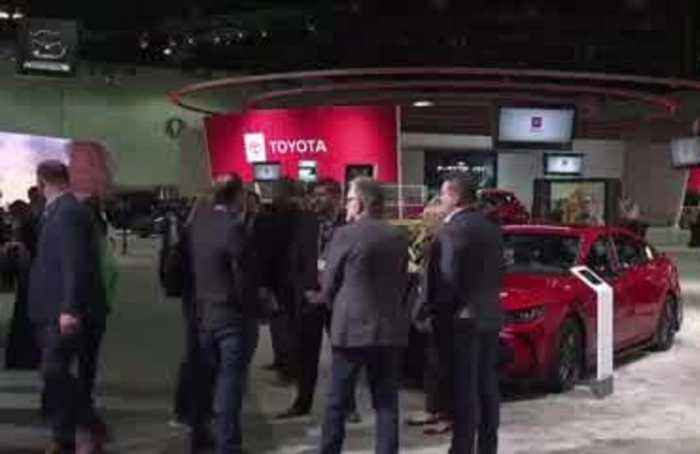 Electric-craze revs up at LA Auto Show