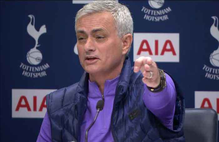 The funny bits: Mourinho shows he's still got comic timing
