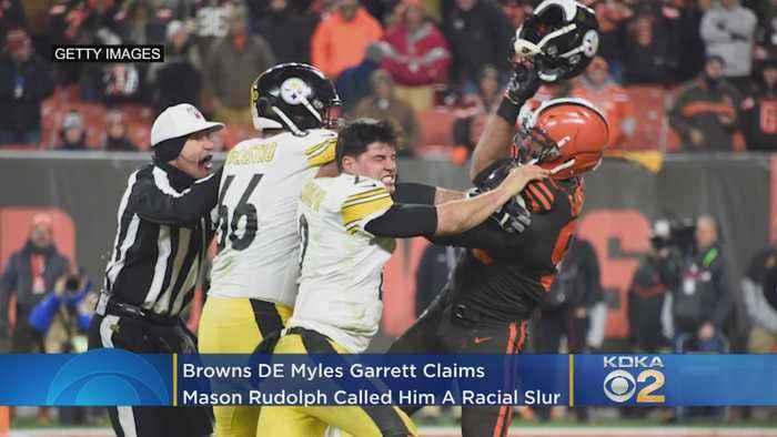 NFL Finds 'No Evidence' Mason Rudolph Called Myles Garrett A Racial Slur