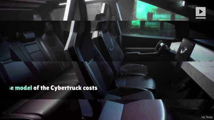 Elon Musk Unveils the New Tesla Cybertruck