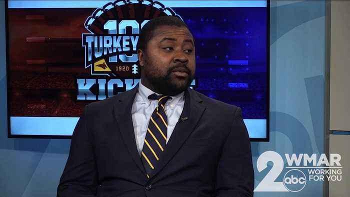 Turkey Bowl 100: Loyola's Anthony Zehyoue