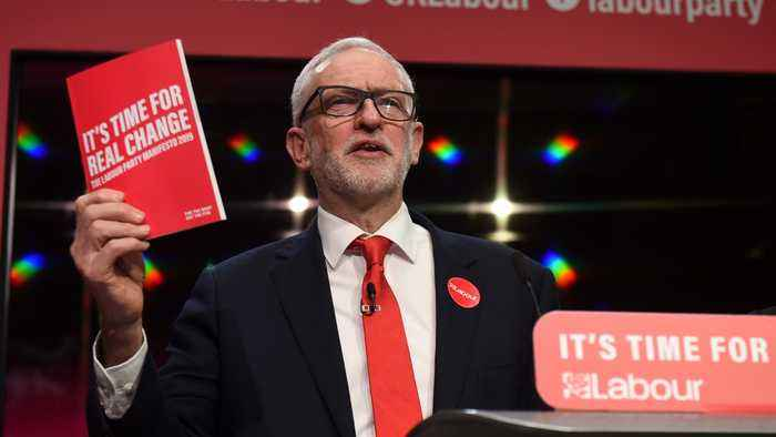 UK election: Jeremy Corbyn reveals 'radical' Labour manifesto