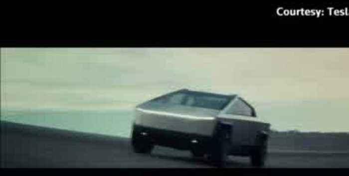 Tesla unveils its futuristic 'Cybertruck'