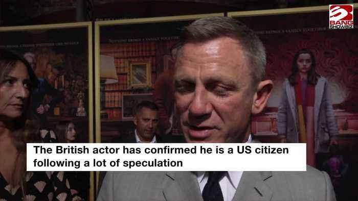 Daniel Craig 'proud' to be US citizen