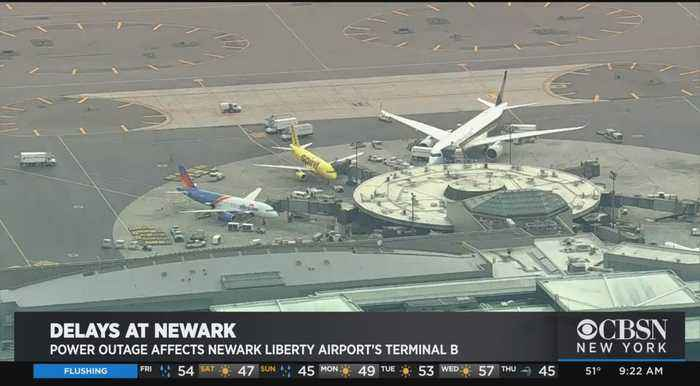 Power Issues At Newark Liberty Airport Causing Flight Delays