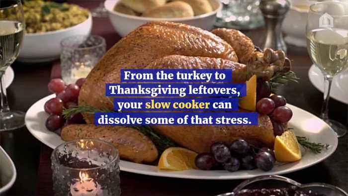 How to Have a Stress Free Slow Cooker Thanksgiving