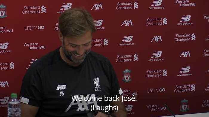 Jurgen Klopp says Mourinho was 'desperate' to get back to management