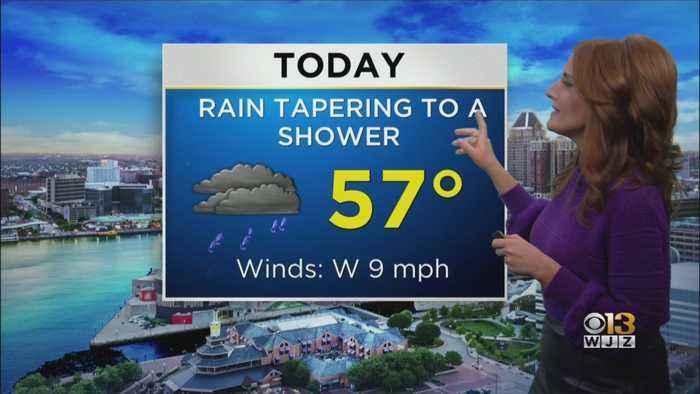 Meg McNamara Has A Look At Your Friday Afternoon Forecast