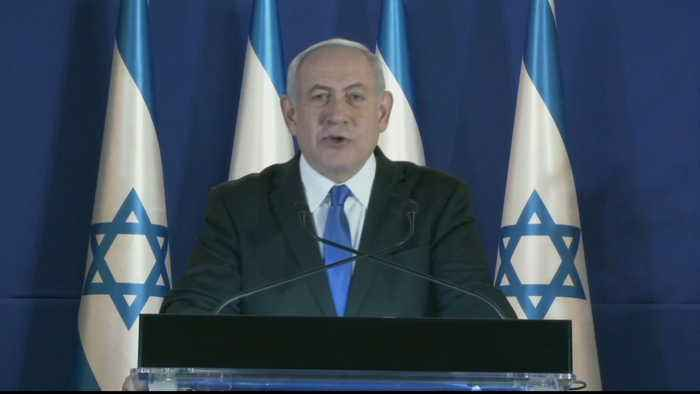 Israel's Netanyahu refuses to step down amid corruption charges