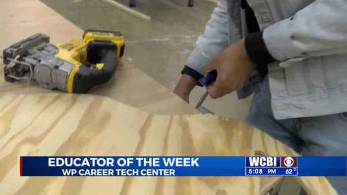 Educator of the Week - West Point Career Tech - 11/22/19